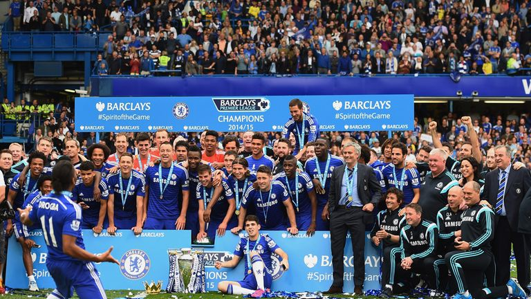 Chelsea ran out Premier League winners, and only lost 428 days through injury