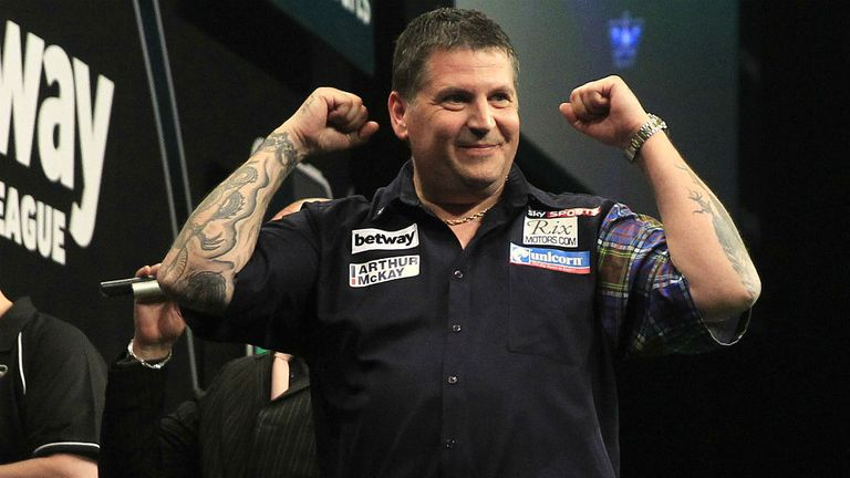Gary Anderson: The Premier League darts champion teased Wayne Mardle