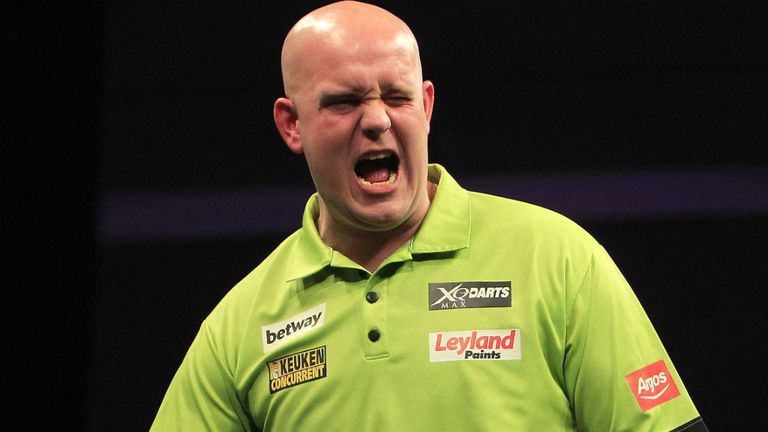 World number one Michael van Gerwen will play in front of a home crowd in Rotterdam