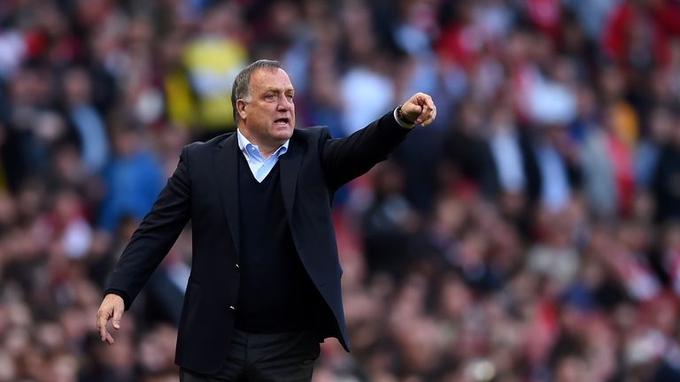 Dick Advocaat only took charge of Sunderland in March after Gus Poyet was sacked