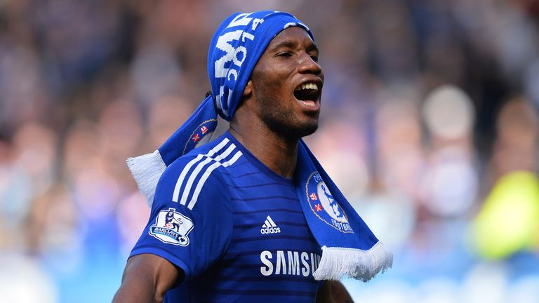 Didier Drogba - the only player released by Chelsea