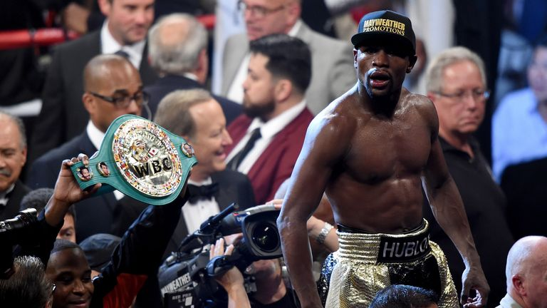 Mayweather said he will retire in September after one more fight