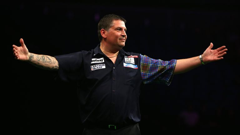 Gary Anderson won the Players Championship