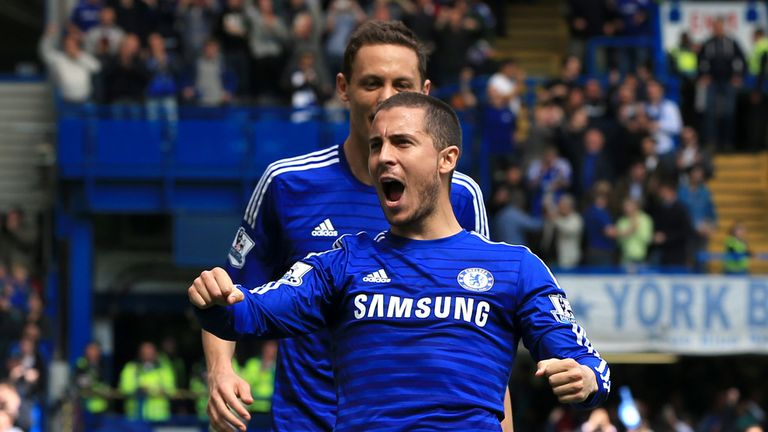 Chelsea's Eden Hazard likely to miss their final game.