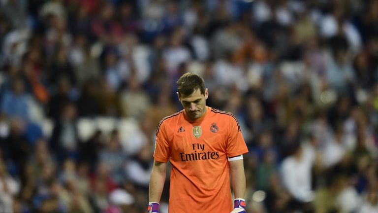 Iker Casillas: Knows the pressure to perform is huge at Real Madrid