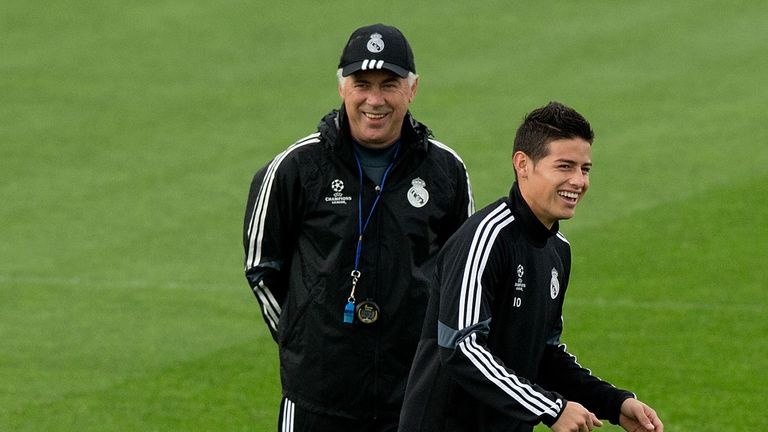 Everton manager Carlo Ancelotti is reportedly eyeing a reunion with the forward