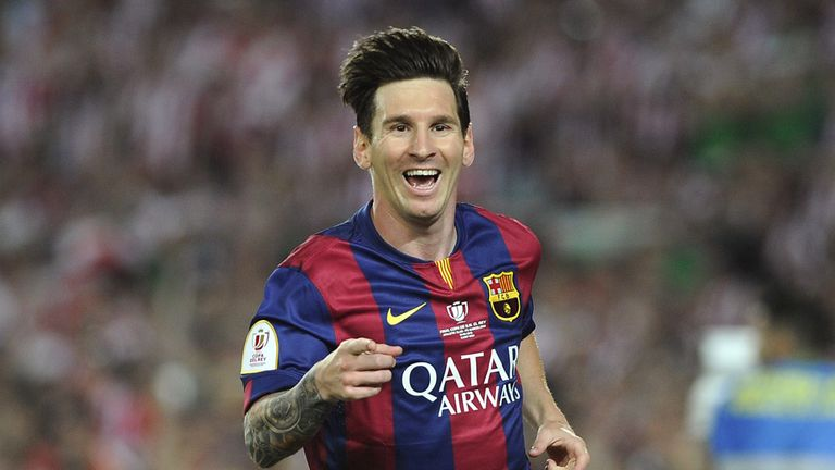 Lionel Messi had another successful season in Barcelona
