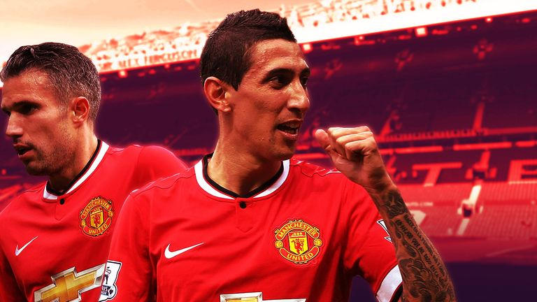 Van Persie and Di Maria - will they be at United next season?