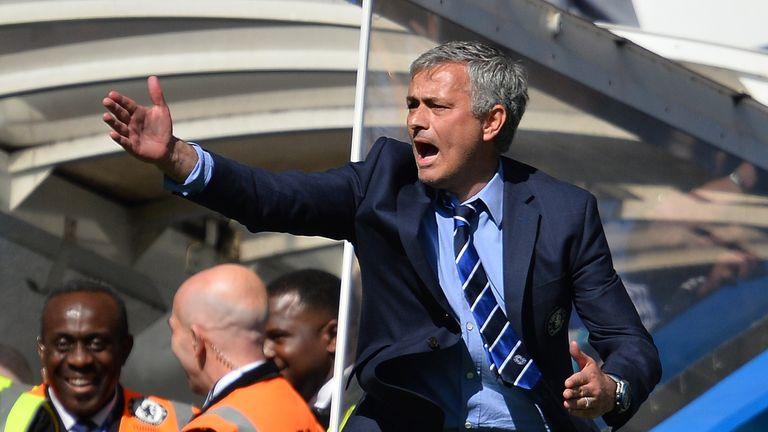 Jose Mourinho won his third title in England on Sunday