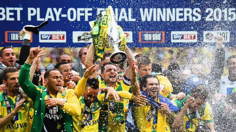 Norwich face Arsenal and Manchester United at the back end of the season