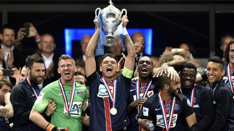 Paris Saint-Germain have lifted the Coupe de France for the past two seasons