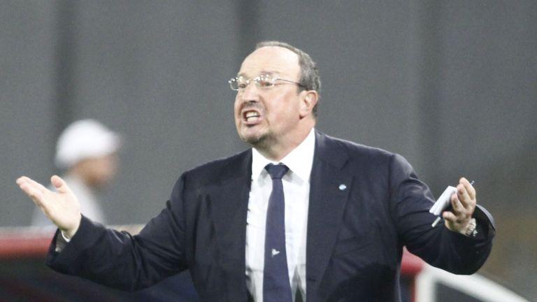 Rafael Benitez: Tipped to take Real Madrid job