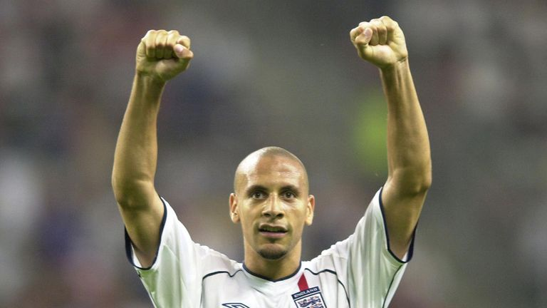 Rio Ferdinand should be regarded as one of England's great defenders