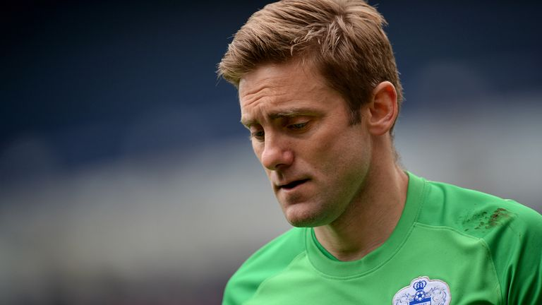 Robert Green signed for Queens Park Rangers from West Ham in 2012