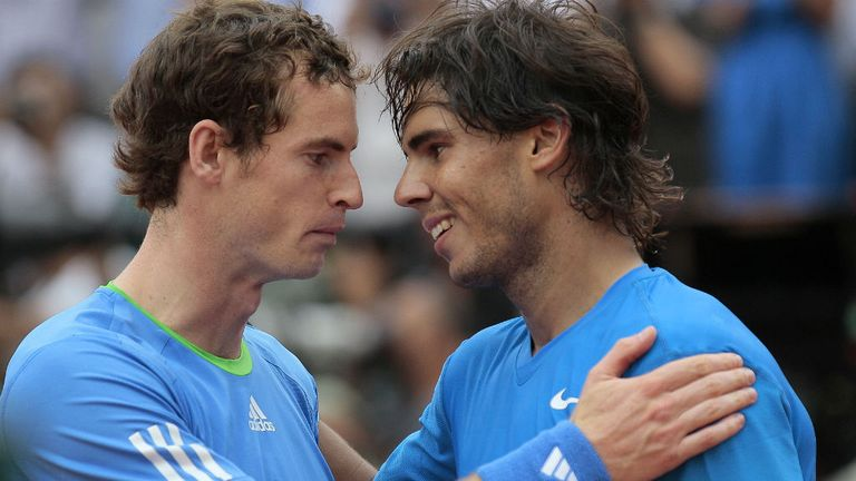 Andy Murray and Rafael Nadal were on course to meet at the quarter-final stage before the Spaniard's shock exit