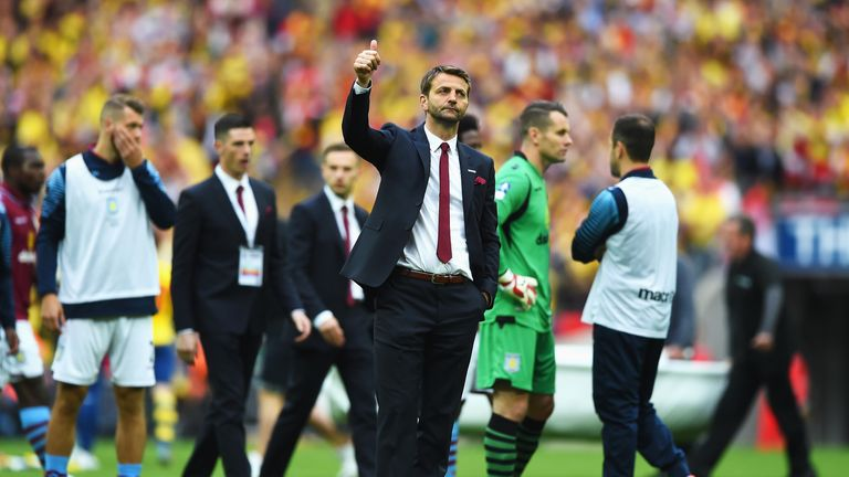 Tim Sherwood: saw his side outplayed at Wembley