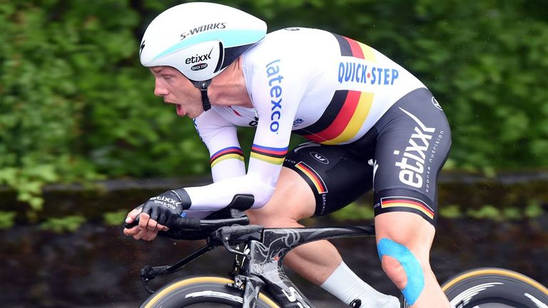 Tony Martin won the time trial on the final stage