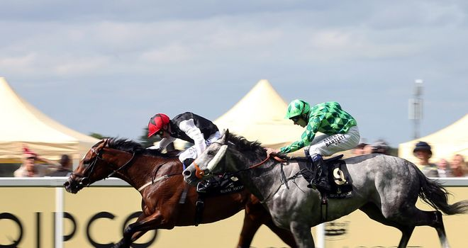 Free Eagle fends off The Grey Gatsby to win a thrilling Prince Of Wales's Stakes