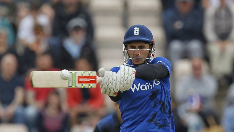 Alex Hales is looking to nail down a Test spot