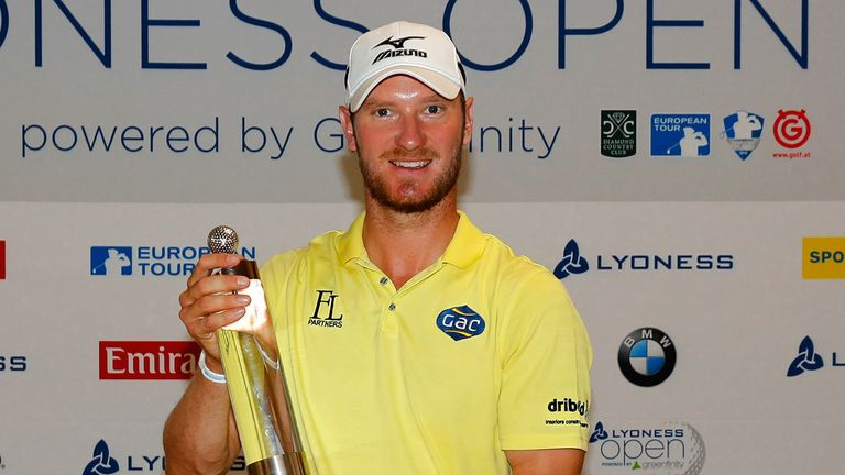 Chris Wood is defending his Lyoness Open crown this week