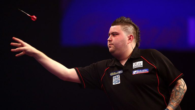 Michael Smith retained his European Darts Trophy crown