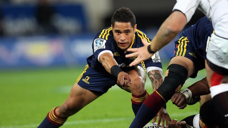 Aaron Smith: The All Black pairs with Lima Sopoaga for the play-off