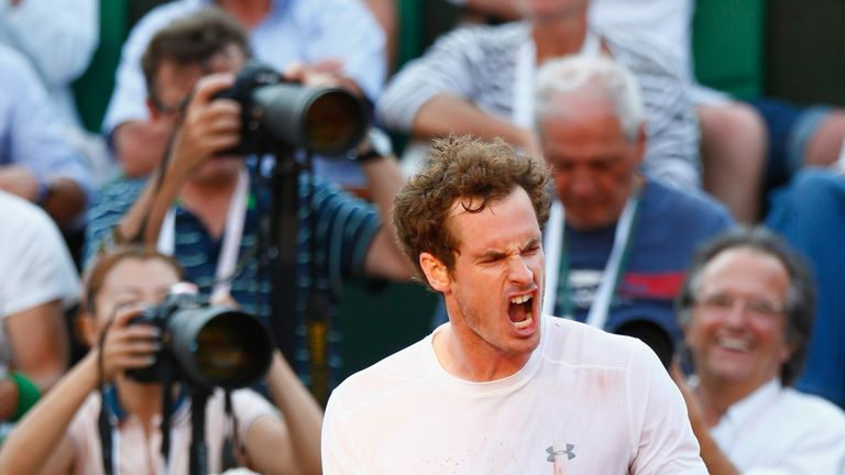 Murray was beaten in five sets by Novak Djokovic at the French Open