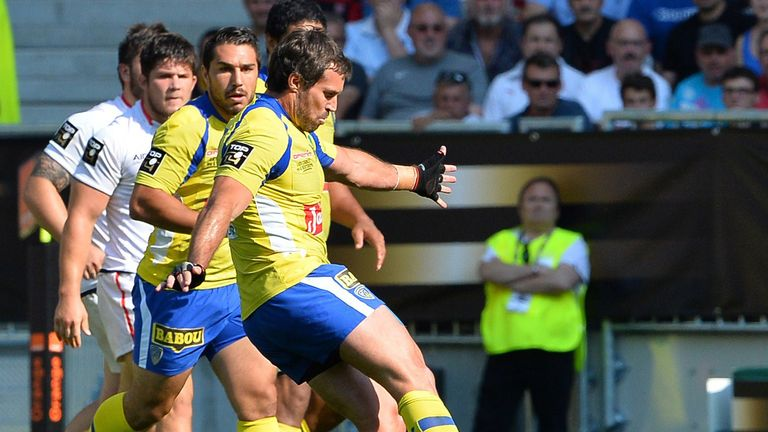 Clermont's fly half Brock James  seals the deal for Clermont
