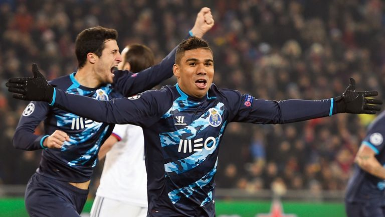 Casemiro: Heading back to Real Madrid after impressing at Porto