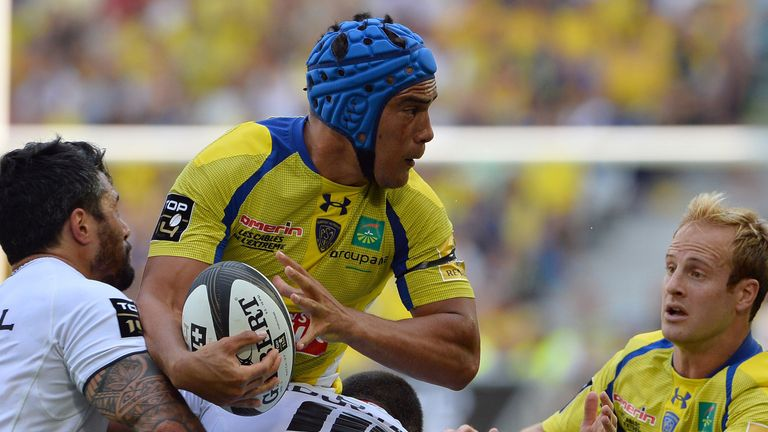 Clermont's centre Benson Stanley caused all sort of problems for Toulouse