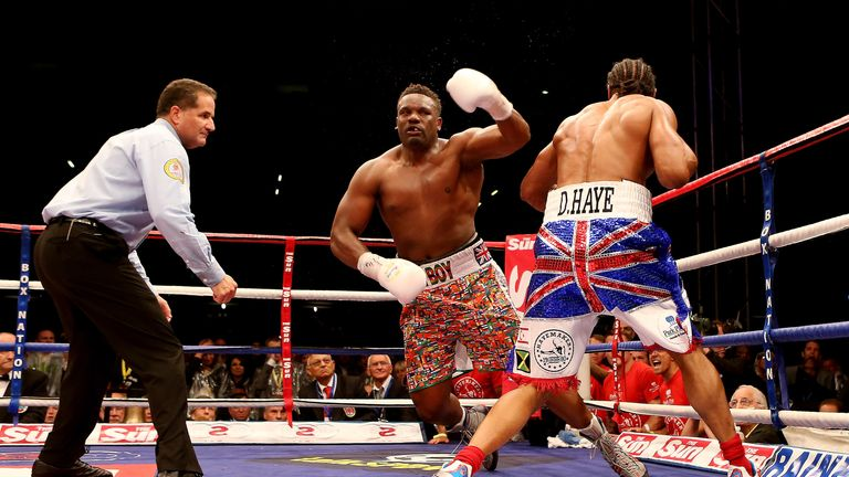 'The Haymaker' stopped Dereck Chisora in five rounds at Upton Park in his last fight in 2012