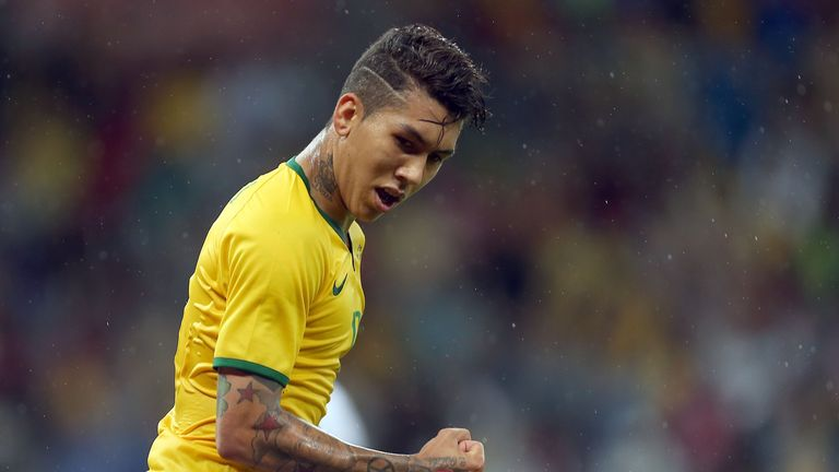 Firmino has been on the scoresheet at the Copa America for Brazil