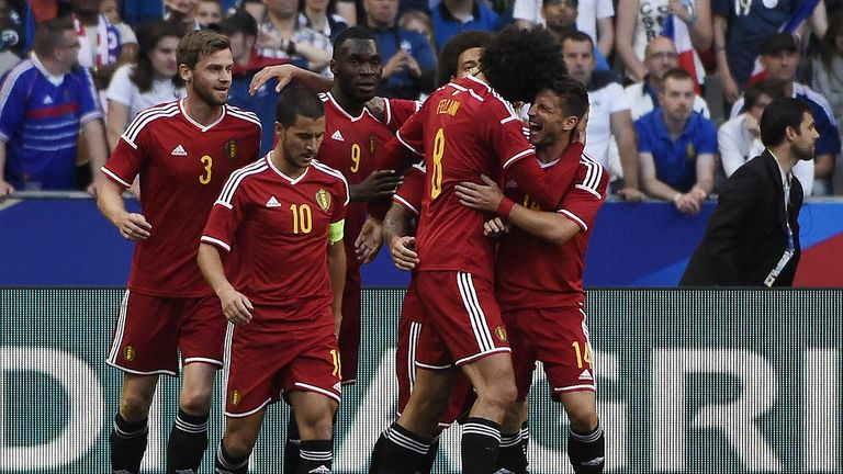 Belgium beat France for the first time since 2002