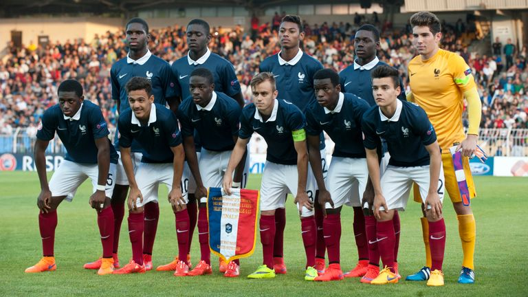 The France U-17 team at the 2015 European Championship were just too good