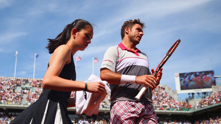 Stan Wawrinka's checked shorts have become a tennis icon in their own right