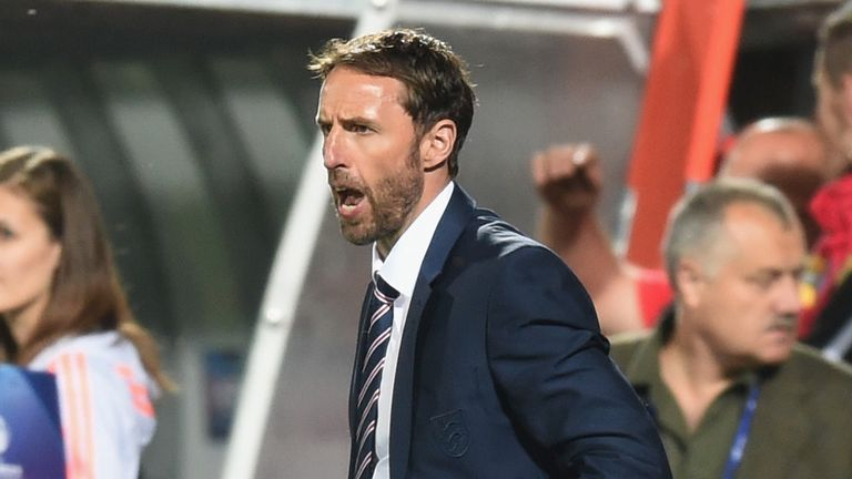 Gareth Southgate: Thinks the momentum is with England now