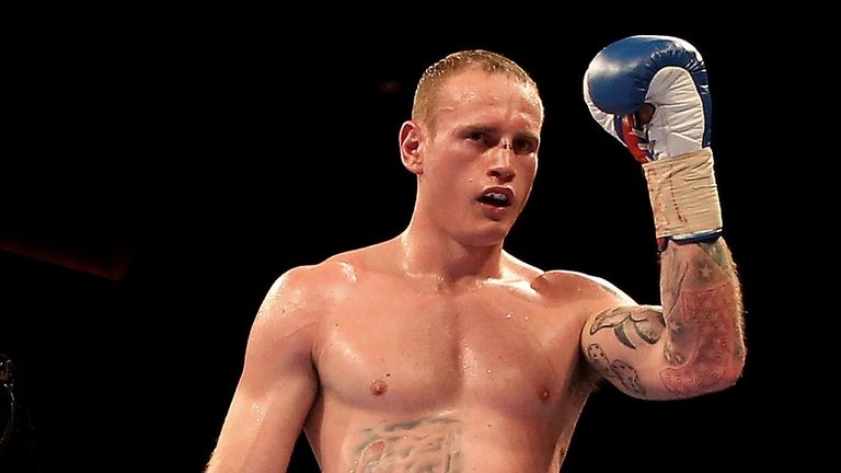 George Groves is in camp but is still waiting for confirmation