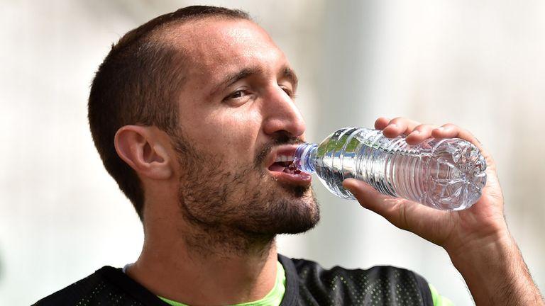 Giorgio Chiellini of Juventus: Injury blow