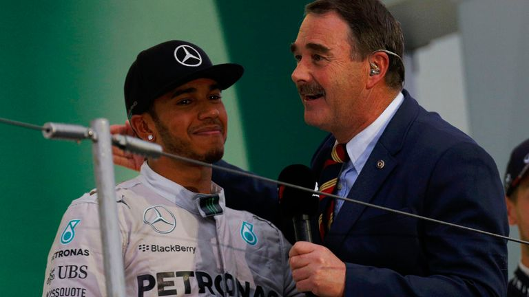 Nigel Mansell has tipped Lewis to challenge Schumi's record