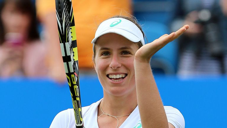 Johanna Konta to play Nottingham, Birmingham and Eastbourne this summer | Tennis News |