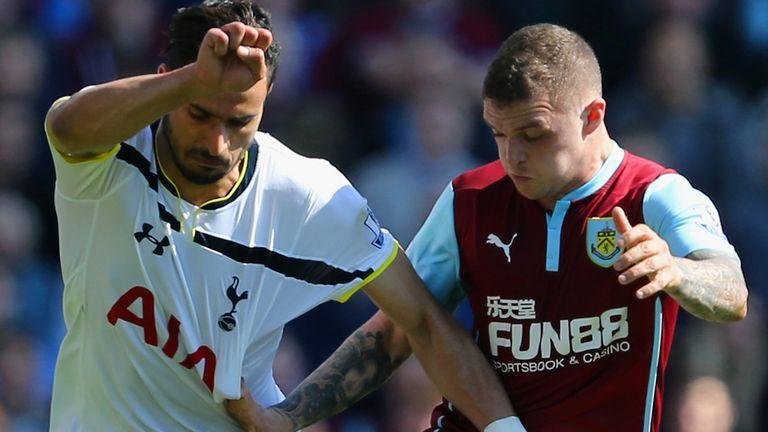 Kieran Trippier is set to join Spurs from Burnley