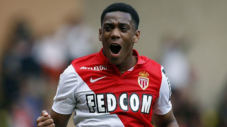 Anthony Martial is on his way to Manchester United