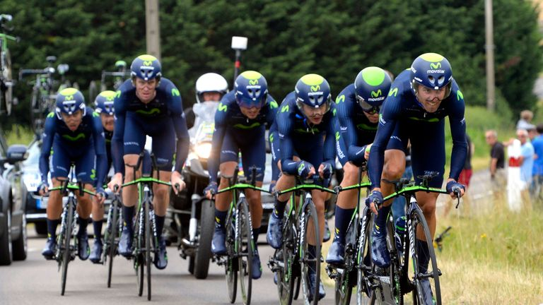 Movistar should be able to produce a strong team time trial