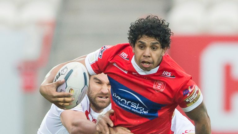 Albert Kelly is back in Hull KR's squad after recovering from a leg injury