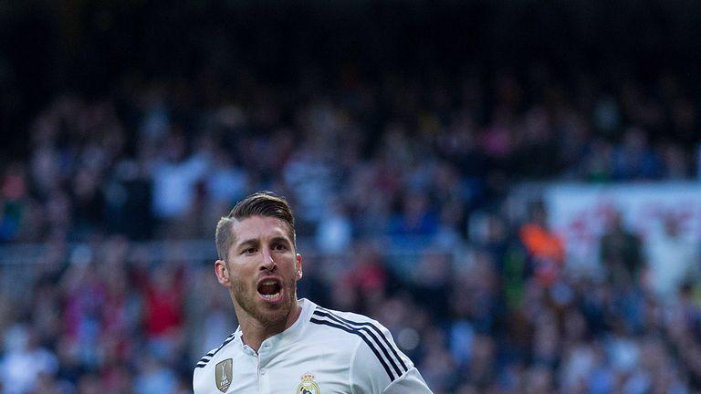 Sergio Ramos: The Spanish international has been at Madrid since 2005