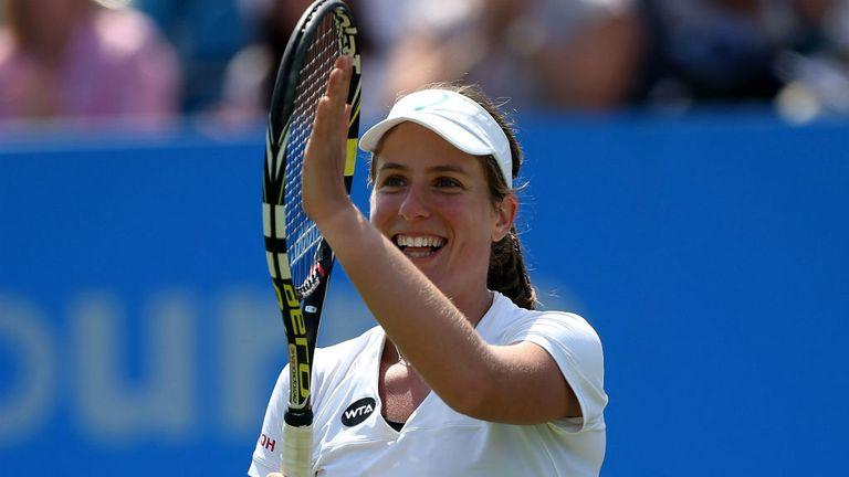 Johanna Konta - Centre Court date with Maria Sharapova
