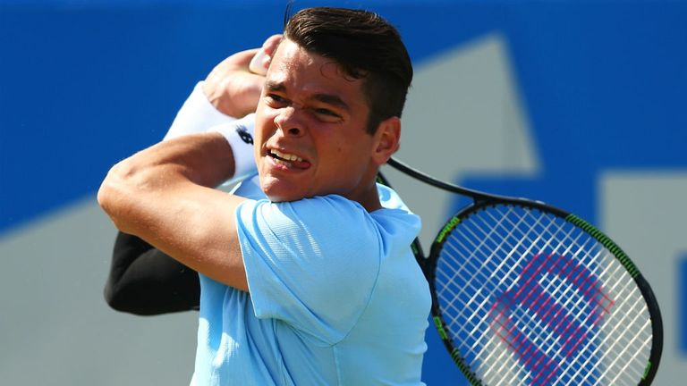 Milos Raonic: Made the semi-finals at Wimbledon