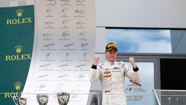 Stoffel Vandoorne took yet another GP2 win in Austria