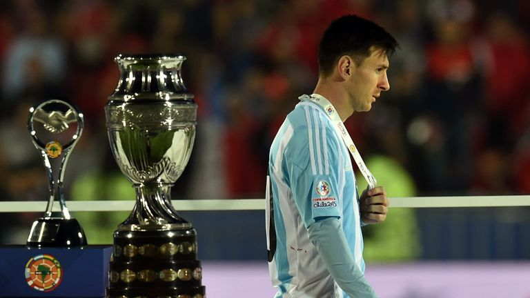 Messi has tasted defeat in two major finals in the last 12 months