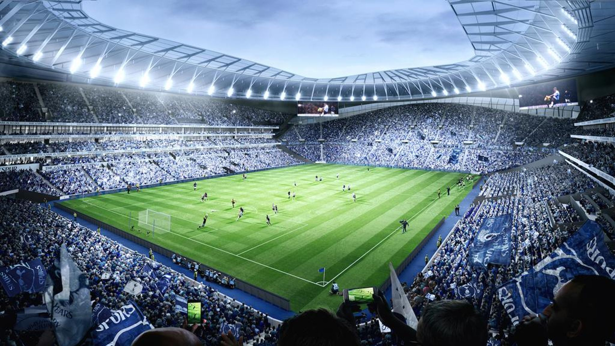 New Football Stadiums The Next Generation Of Venues Football